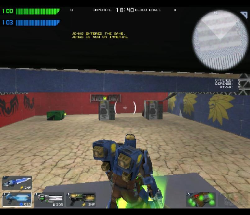 Indoor Tactical Arena