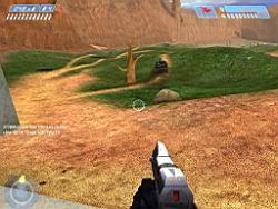Halo PC Beta: Pistoling (Blood Gulch)