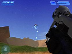 Halo PC Beta: Banshee in the Sky (Blood Gulch)