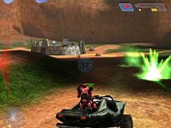 Halo PC Beta: Warthog on Blood Gulch