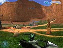Halo PC Beta: Warthog in the Bloody Gulch