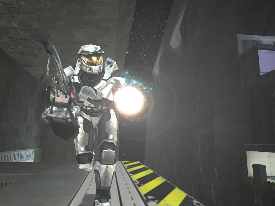 Halo PC Beta: Flamethrower on Boarding Action