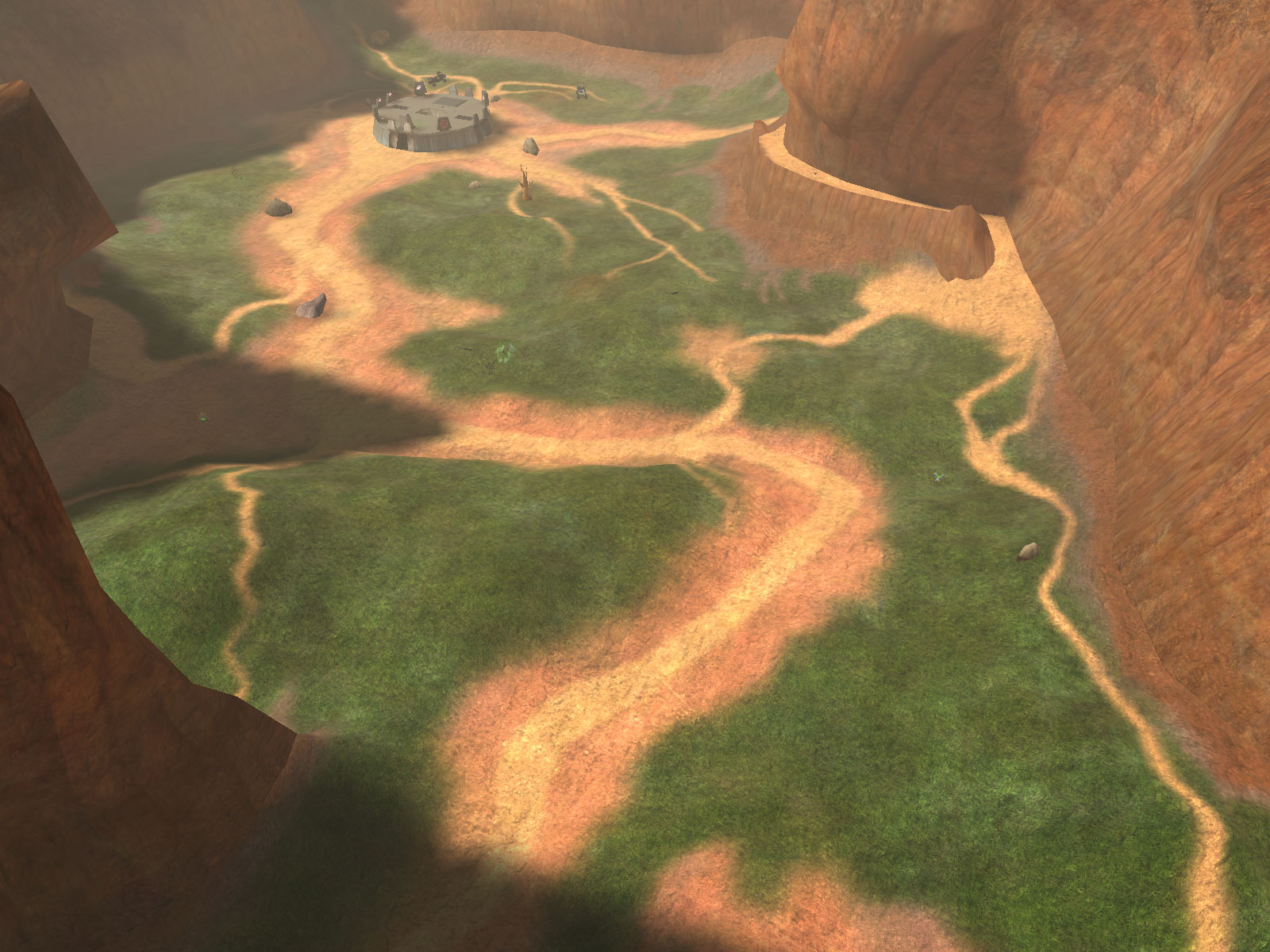 Blood Gulch - From Above