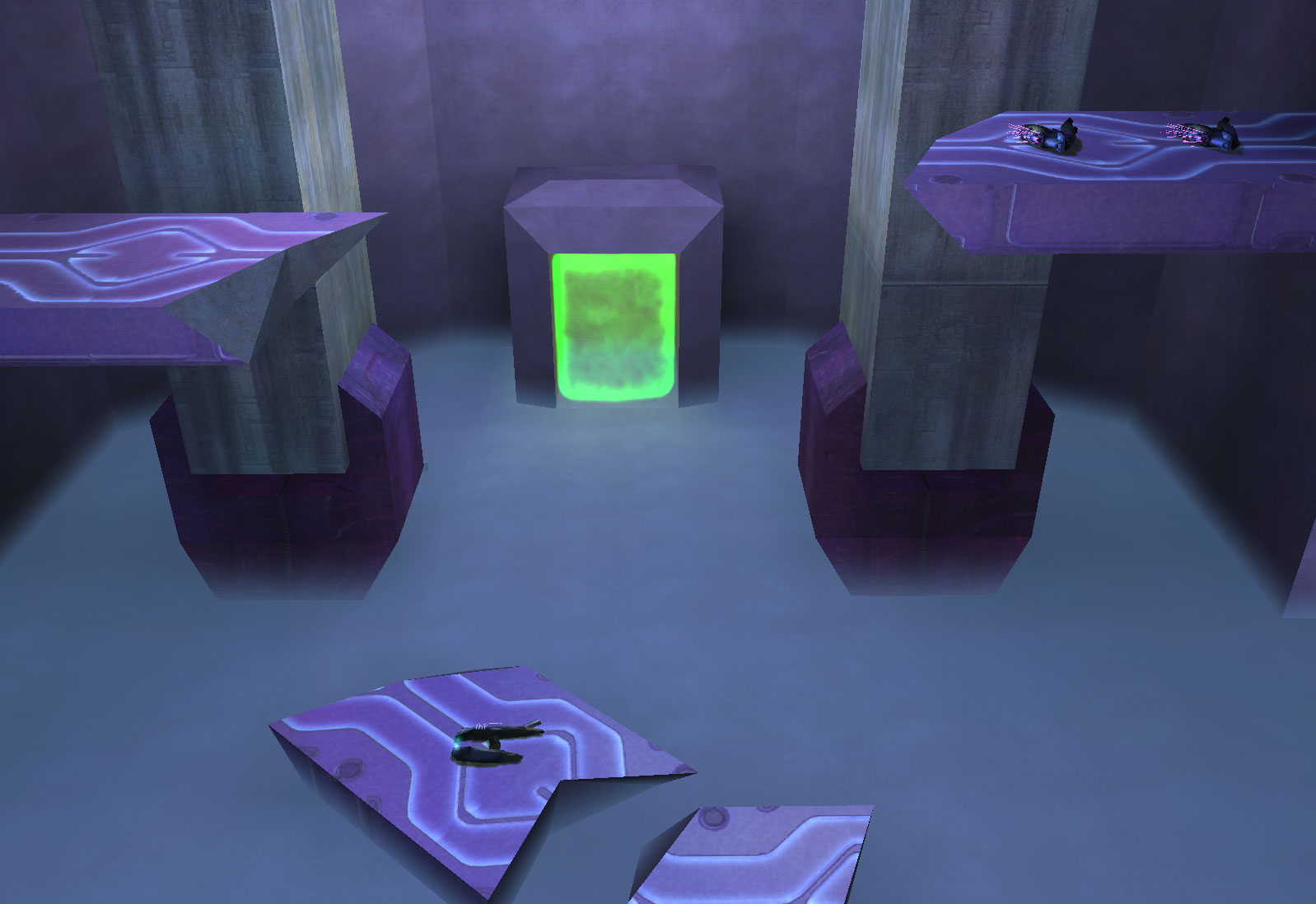 Chill Out - Teleporter View
