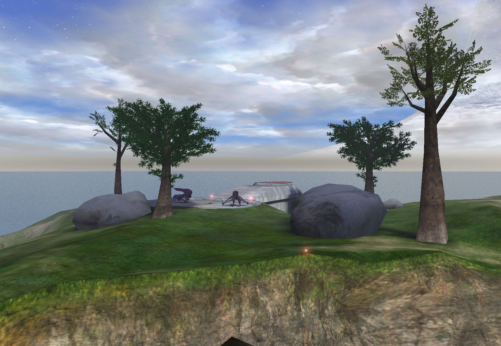 Death Island - Alternate Top View