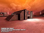 Human infantry barracks / spawn area on Mars
