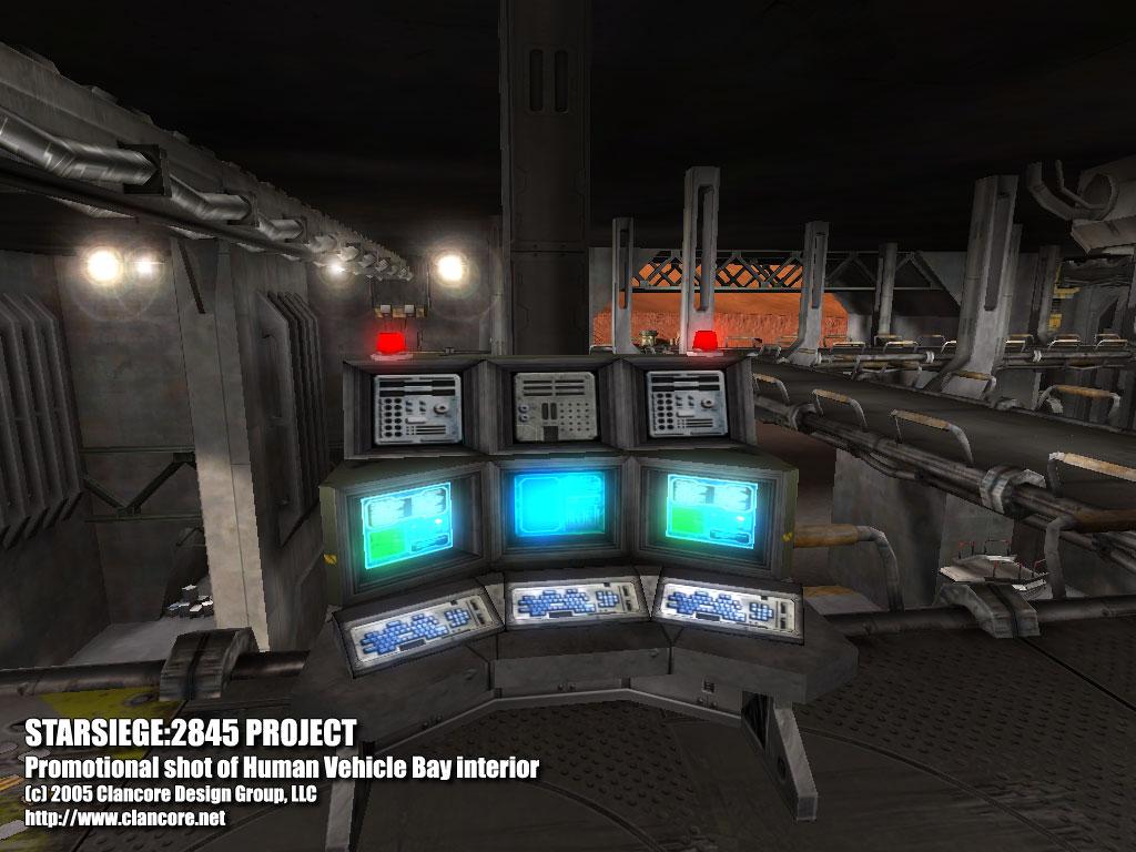 Human vehicle bay interior