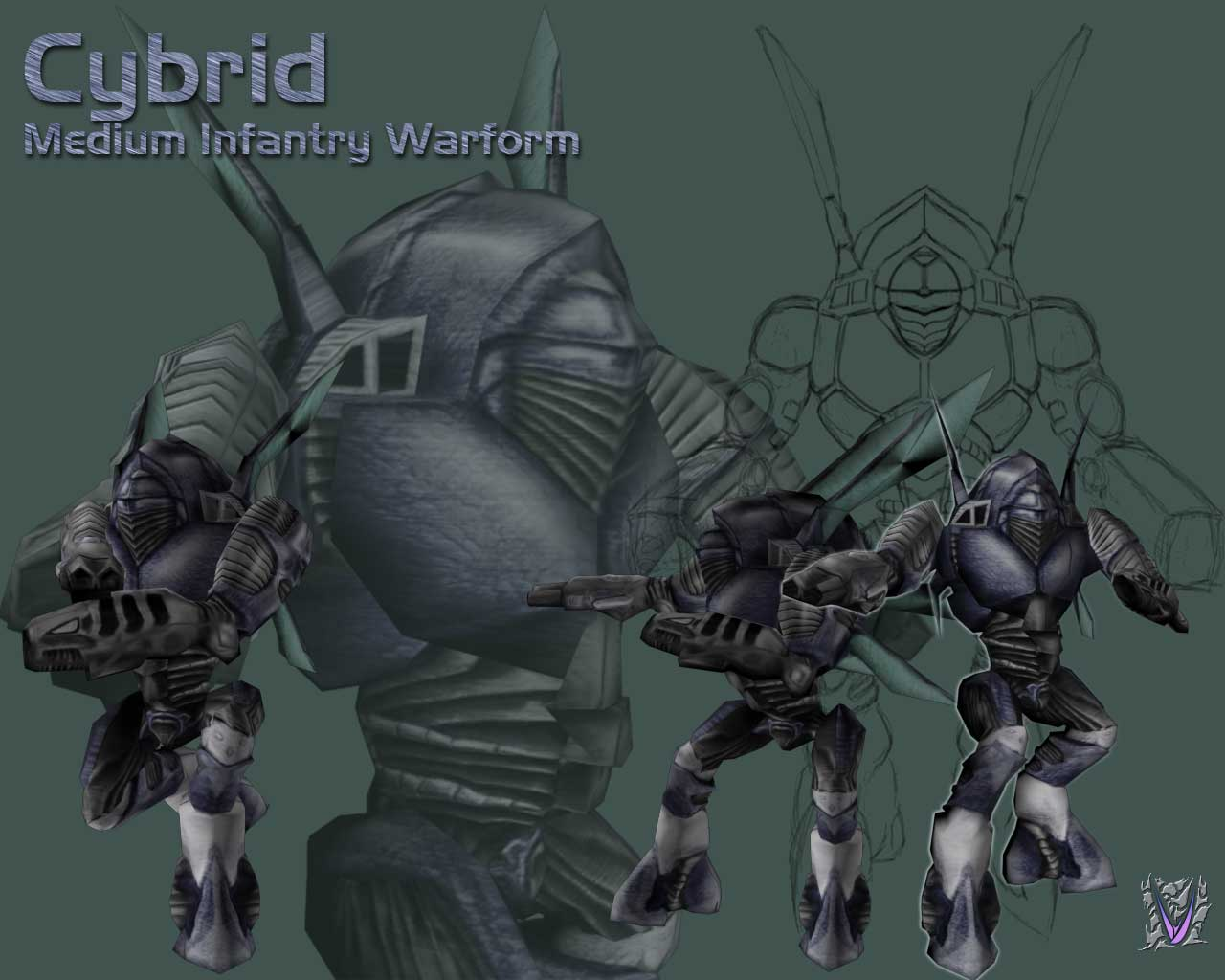 Cybrid Medium-Armor Infantry