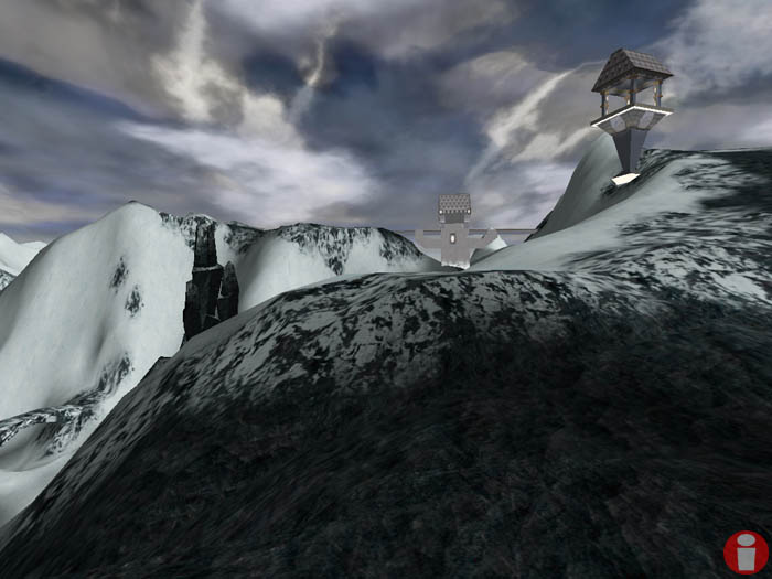 Take a gander at the wonderful slopes of Mt. Tribes 2, where you can ski all year 'round.