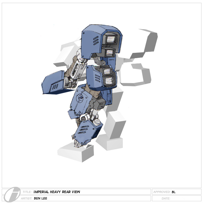 Imperial Heavy Rear