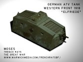 German A7V Heavy Tank