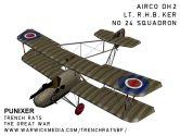 Airco DH2 No.24 Squadron