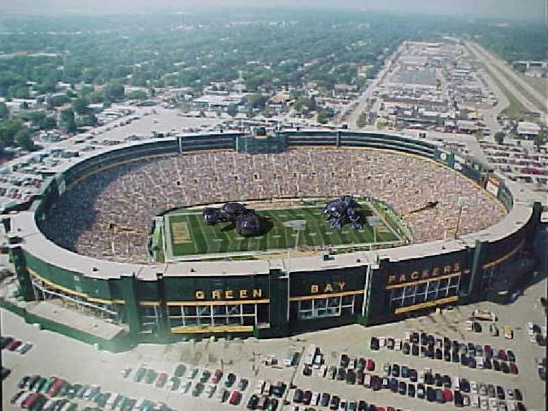 Lambeau Field Shot