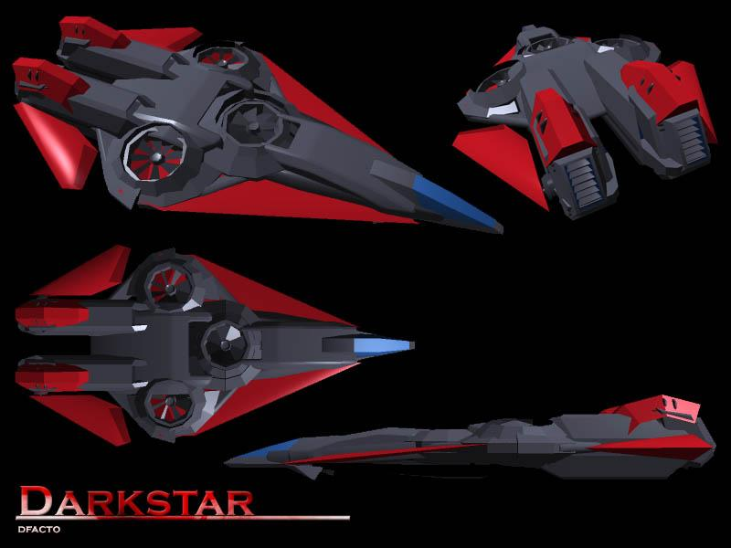 DarkStar Aerodyne Fighter