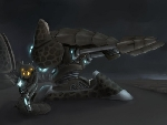 Cybrid Infantry and Turret