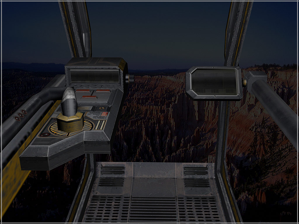 Emanciptor Cockpit render