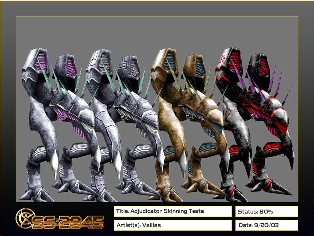 Adjudicator skins
