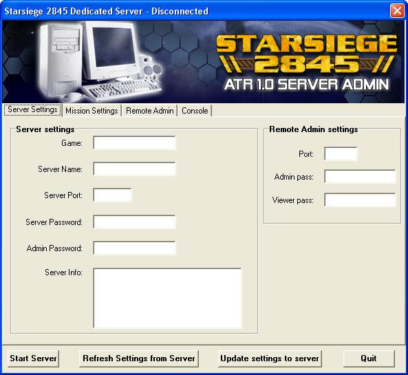 Dedicated Server Admin