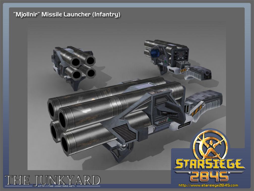 Mjollnir Missile Launcher